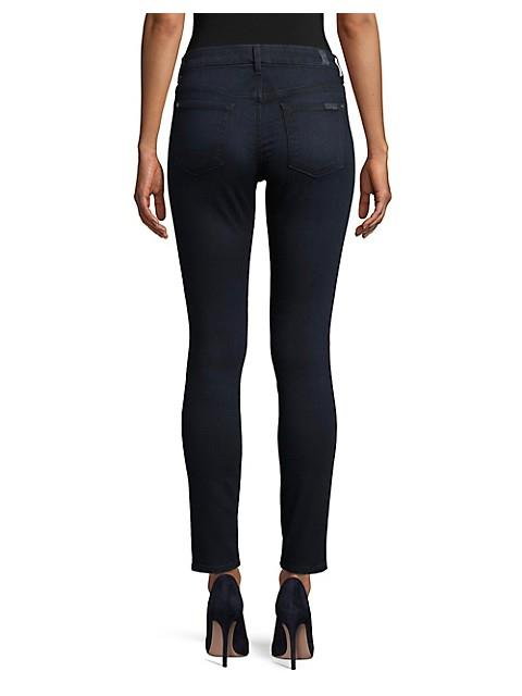 7 FOR ALL MANKIND - THE HIGH WAISTED SKINNY