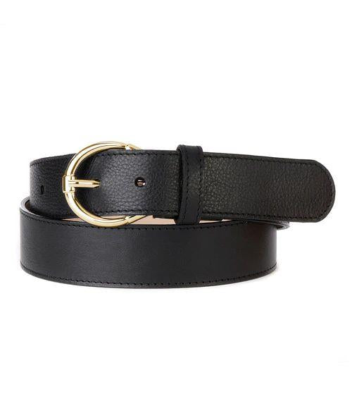 BRAVE- SAIYAN HALF MOON BUCKLE BELT