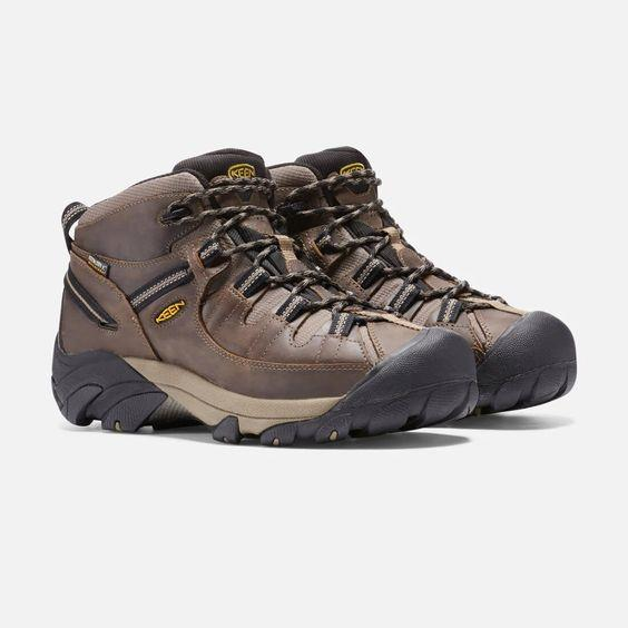 KEEN- Men's Targhee II Waterproof Mid Wide