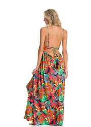 MAAJI- Crystal Flowering Rites Long Dress