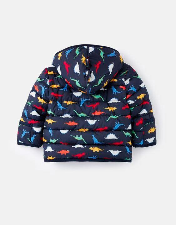 JOULES- JESSIE PRINTED PADDED COAT