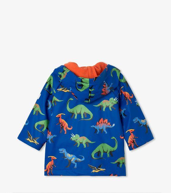 HATLEY- Friendly Dinos Baby Raincoat