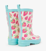 HATLEY- Kids Delicious Berries Shiny Rain Boots