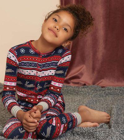 HATLEY- Fair Isle Stags One Piece
