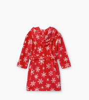 HATLEY- Holiday Snowflakes Fleece Robe