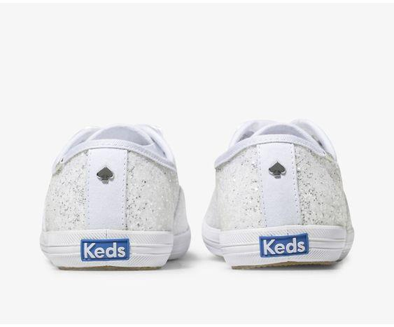 KEDS- WOMEN'S Keds x kate spade new york Champion Glitter