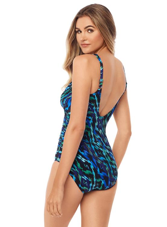 MIRACLESUIT JEWELS OF THE NILE COLORBLOCK SERAPHINA BACK