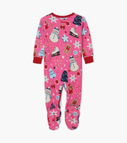 HATLEY- Holiday Sweets Organic Cotton Footed Coverall