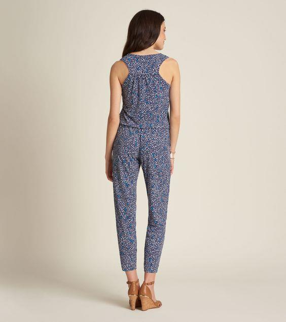 HATLEY- Ella Jumpsuit - Diamond Polka Dots