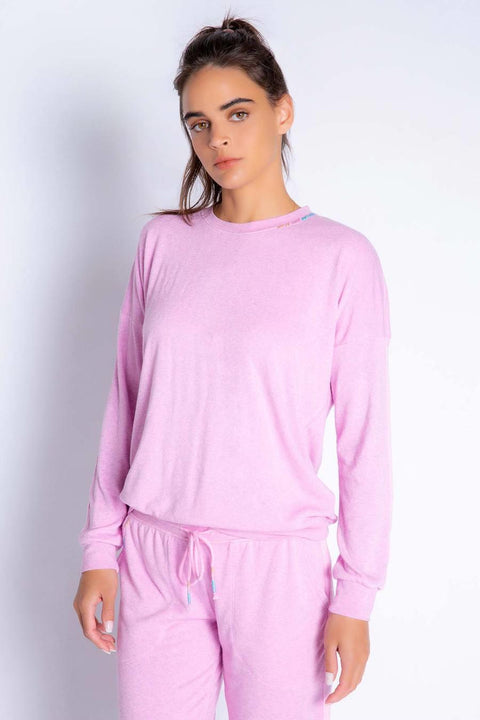 PJ SALVAGE- COLORFUL CLASSICS LONG SLEEVE TOP