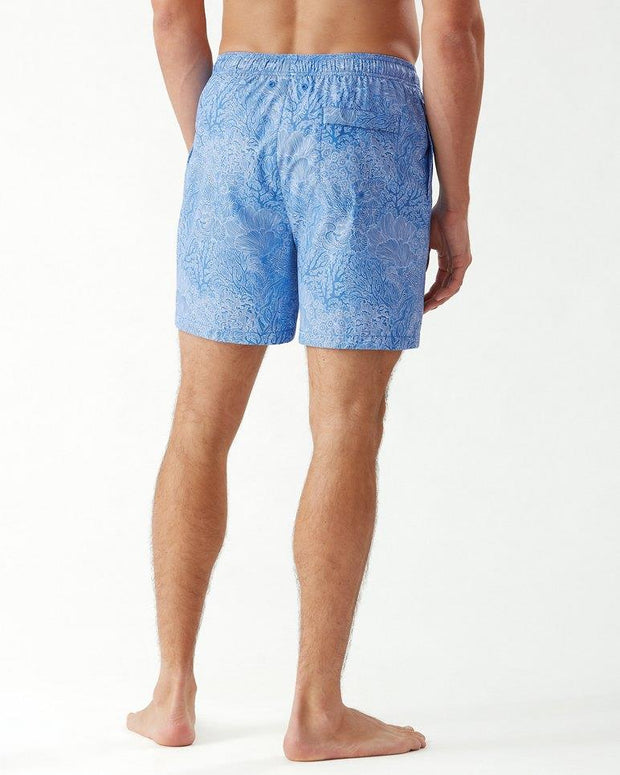 TOMMY BAHAMA Naples Coral Coast 6-Inch Swim Trunks BACK