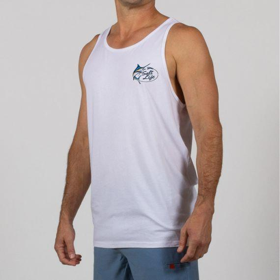 SALT LIFE Salty Marlin Lure Tank Top