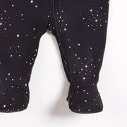 "PETIT LEM- Black ""Starry night"" Sleeper"