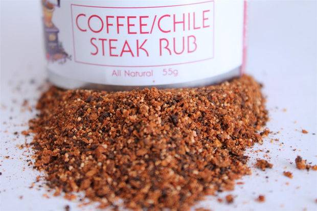 THE EPICENTRE - COFFEE/CHILE STEAK RUB 55G