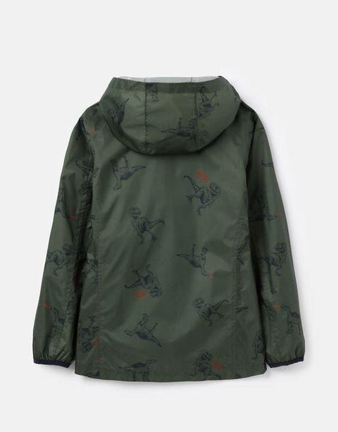 JOULES- ARLOW WATERPROOF PRINTED PACKAWAY JACKET