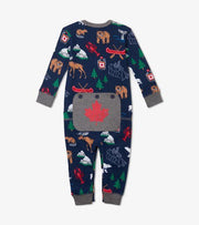 HATLEY TRUE NORTH BABY UNION SUIT