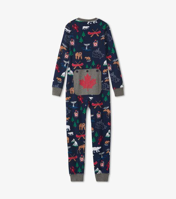 HATLEY -  TRUE NORTH KIDS UNION SUIT