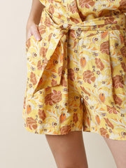 INDI & COLD - FLORAL PRINT SHORT