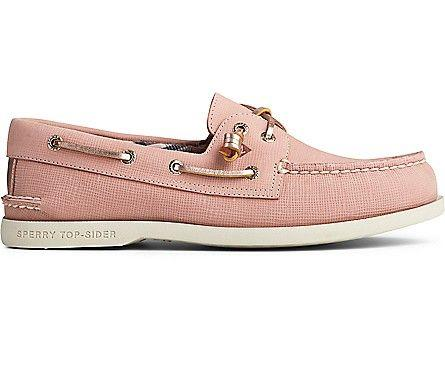 SPERRY- WOMEN`S AUTHENTIC ORIGINAL VIDA PLUSHWAVE BOAT SHOE SIDE