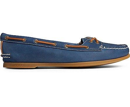SPERRY- WOMEN'S AUTHENTIC ORIGINAL SKIMMER BOAT SHOE SIDE