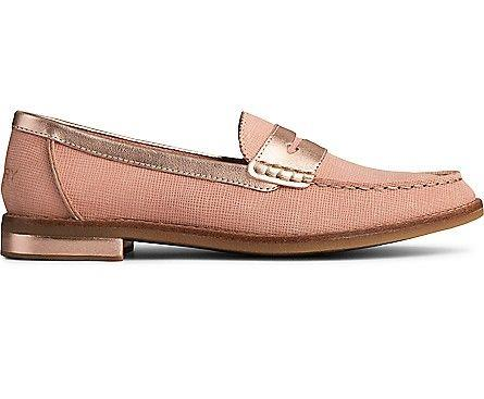 SPERRY- WOMEN'S SEAPORT PLUSHWAVE LOAFER SIDE