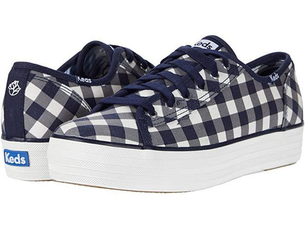 KEDS - X DRAPER JAMES TRIPLE KICK DOLLY CHECK
