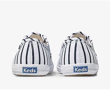 KEDS- WOMEN'S CHAMPION BRETON STRIPE BACK