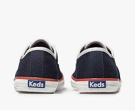 KEDS- WOMEN'S CHAMPION VARSITY SEASONAL SOLIDS BACK