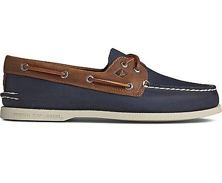 SPERRY- MEN`S AUTHENTIC ORIGINAL BOAT SHOE SIDE