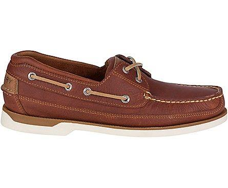 SPERRY- MEN`S MAKO 2-EYE BOAT SHOE SIDE