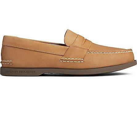 SPERRY- AUTHENTIC ORIGINAL PLUSHWAVE PENNY LOAFER SIDE