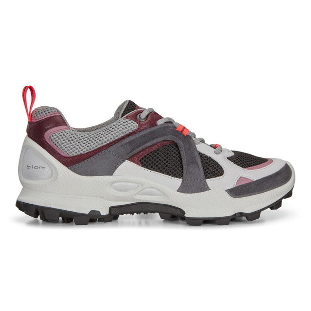 ECCO BIOM C-TRAIL LOW SHOES WHITE SIDE
