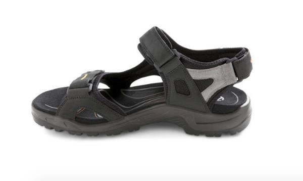 ECCO YUCATAN SANDALS BLACK INSIDE