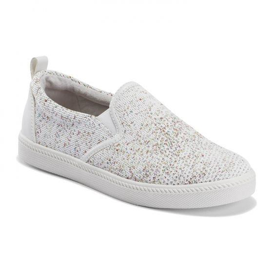 EARTH- ZEN GROOVE SLIP-ON SNEAKER WHITE