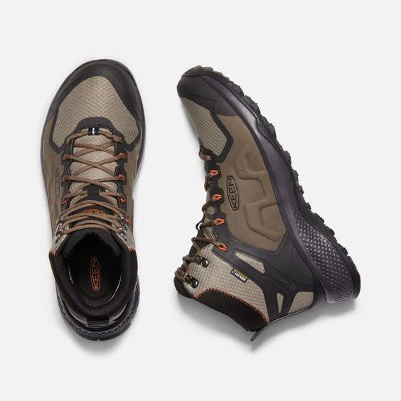 KEEN- MEN'S EXPLORE WATERPROOF BOOT TOP