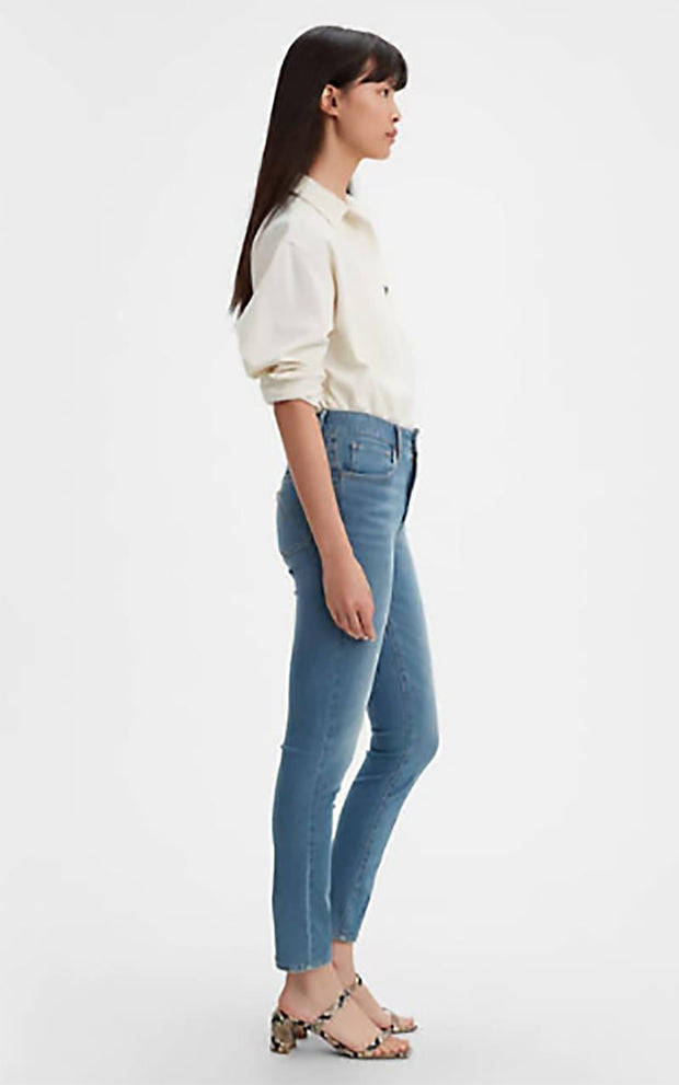 LEVIS 721 HIGH RISE SKINNY SIDE