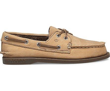 SPERRY- BIG KIDS' ORIGINAL AUTHENTIC BOAT SHOE SIDE