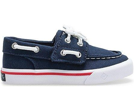 SPERRY- LITTLE KIDS' BAHAMA JUNIOR SNEAKER SIDE