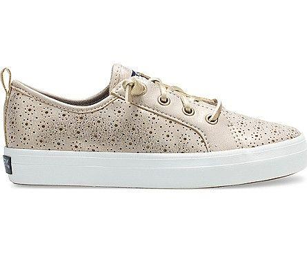 SPERRY- BIG KIDS CREST VIBE PERFORATED SNEAKER SIDE