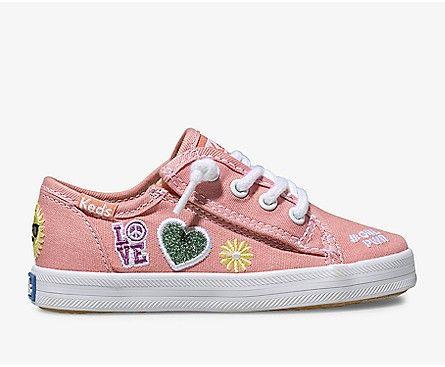 KEDS- KIDS KICKSTART SPRING JR.  SIDE
