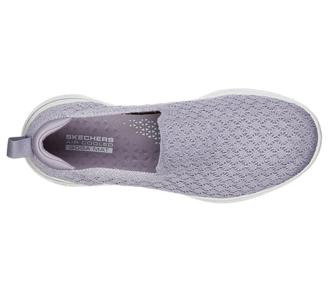 SKECHERS GO WALK 5 BRAVE PURPLE TOP