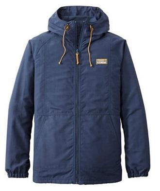 L.L.BEAN MOUNTAIN CLASSIC FULL-ZIP JACKET NAVY FRONT