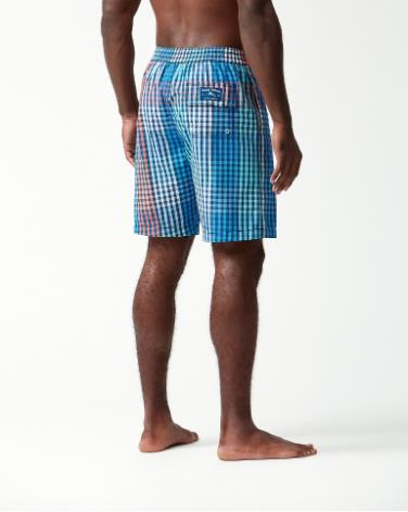 TOMMY BAHAMA BAJA KING OF GINGHAM BACK