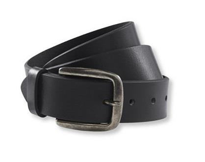 L.L.BEAN 1912 BELT BLACK
