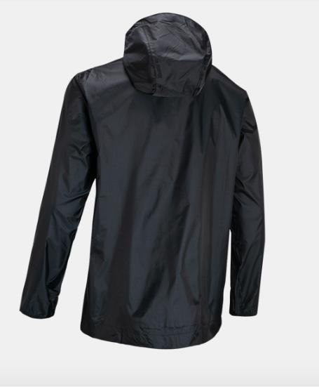UNDER ARMOUR CLOUDBURST SHELL JACKET BACK