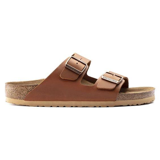 BIRKENSTOCK- MEN'S ARIZONA LEATHER SIDE