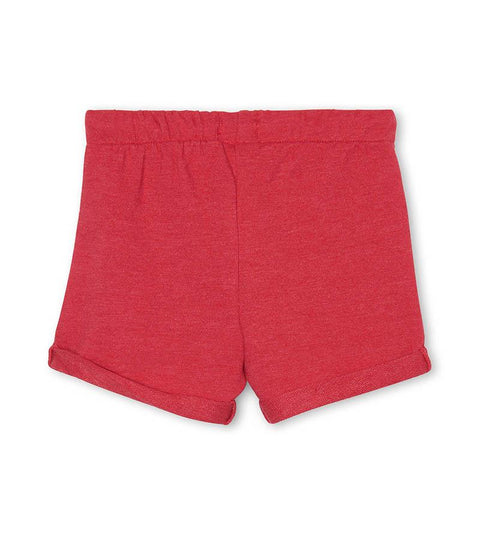 HATLEY - RED FRENCH TERRY SHORTS
