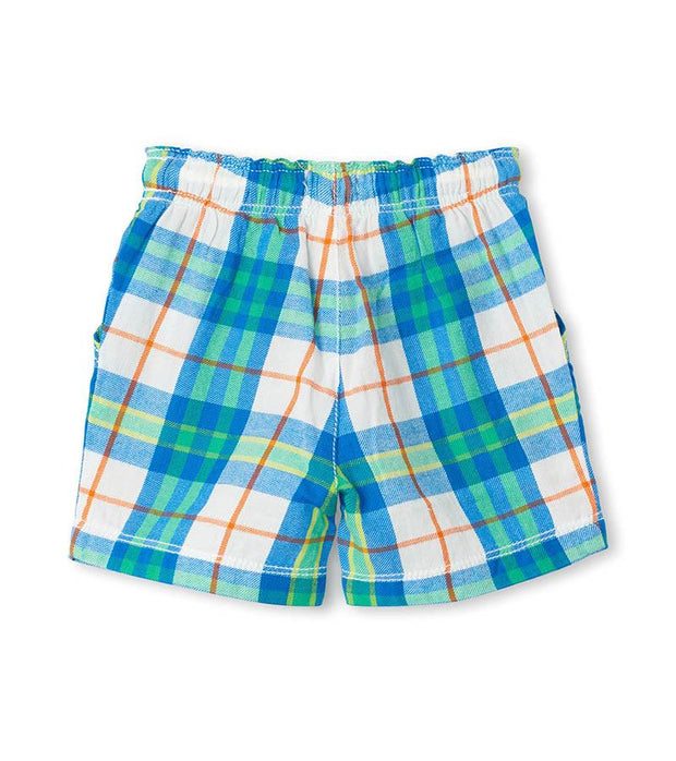 HATLEY - CHAMBRAY PLAID SHORTS