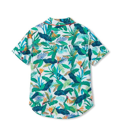 HATLEY - TROPICAL BUTTON UP
