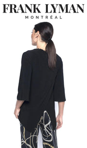 FRANK LYMAN KNIT BLACK BACK